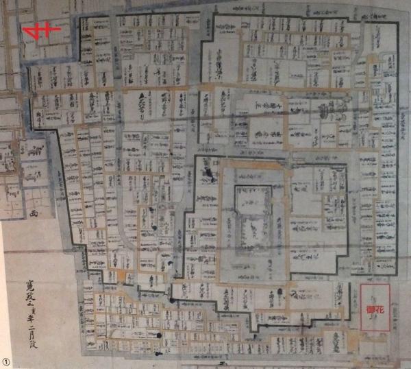 柳川城/古地図