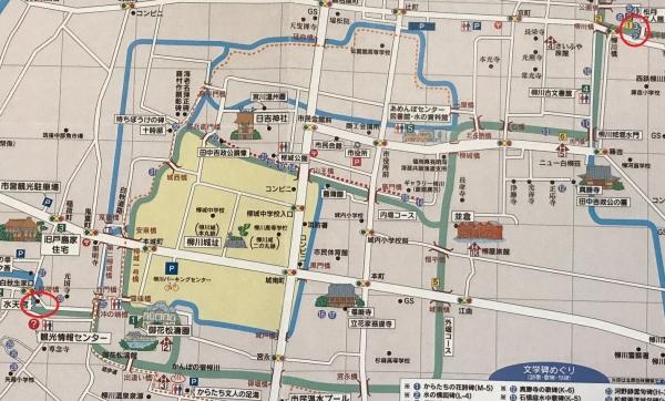 柳川城/マップ