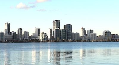 オーストラリア西部の都市であるパース