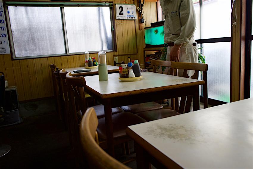 味末食堂@那須烏山市中央 内観