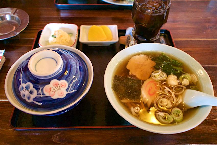 ツルミ食堂@栃木市都賀町 Aセット