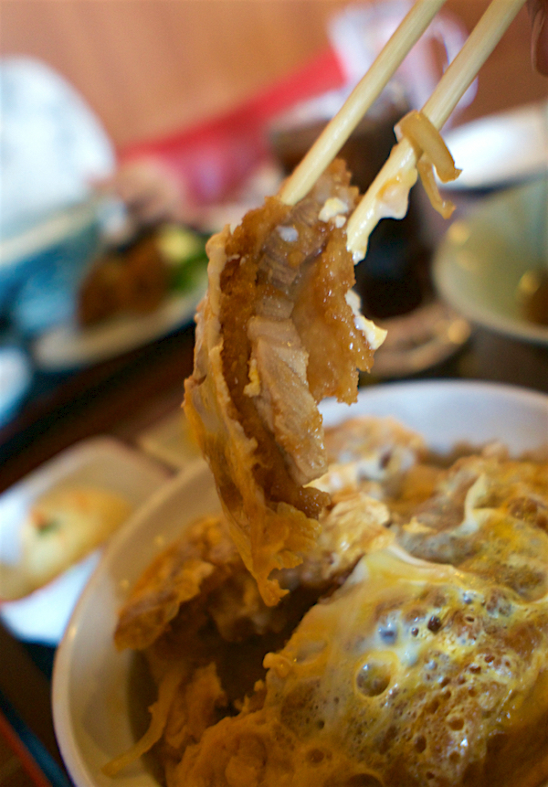 ツルミ食堂@栃木市都賀町 カツ丼2