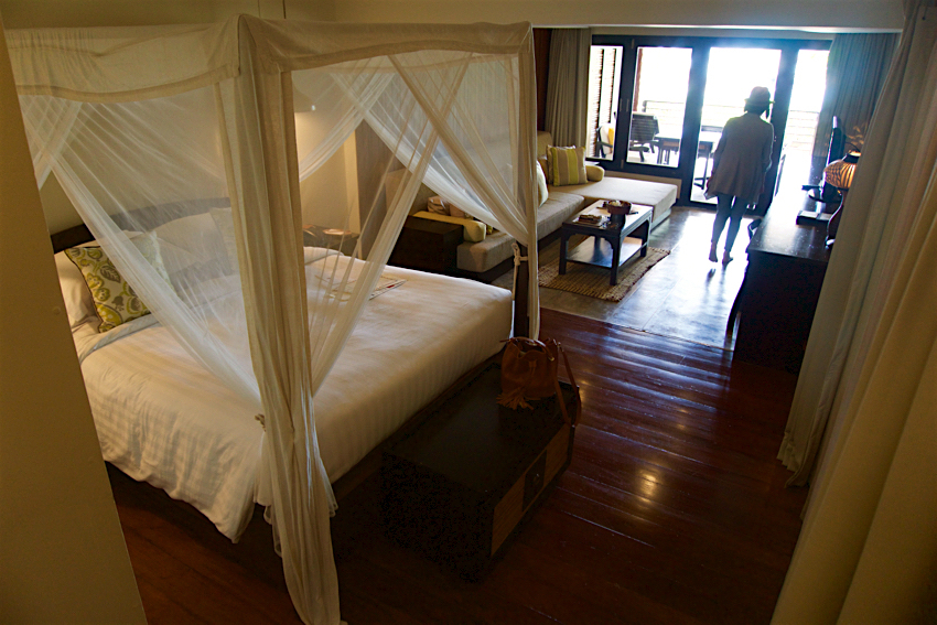 サムイ島旅行記 1日目 The Tongsai Bay Hotel ビーチフロントスイート2