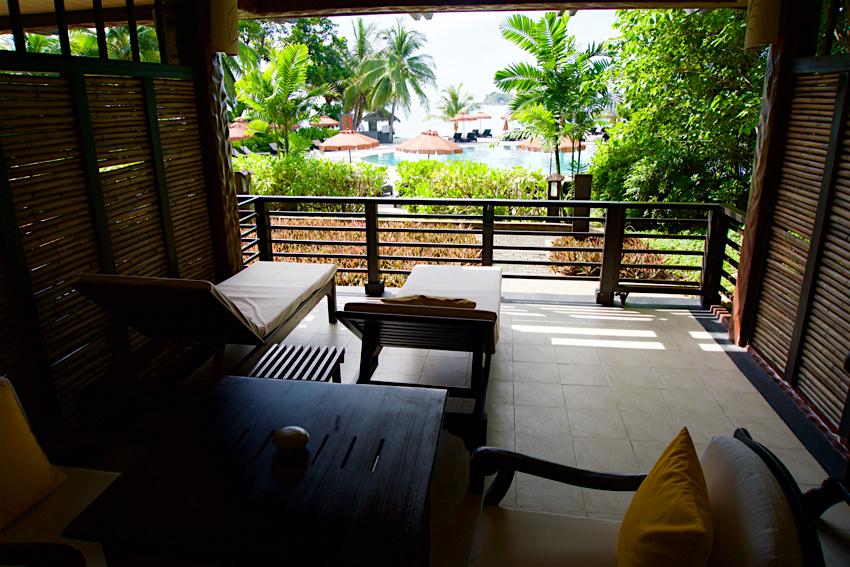 サムイ島旅行記 1日目 The Tongsai Bay Hotel ビーチフロントスイート1