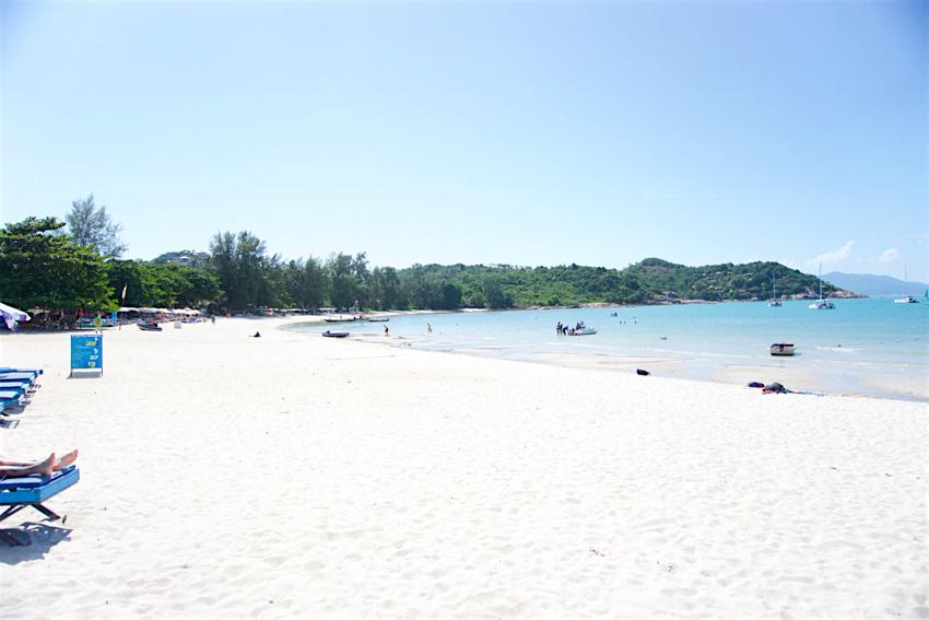 サムイ島旅行記 2日目 チョンモンビーチ1