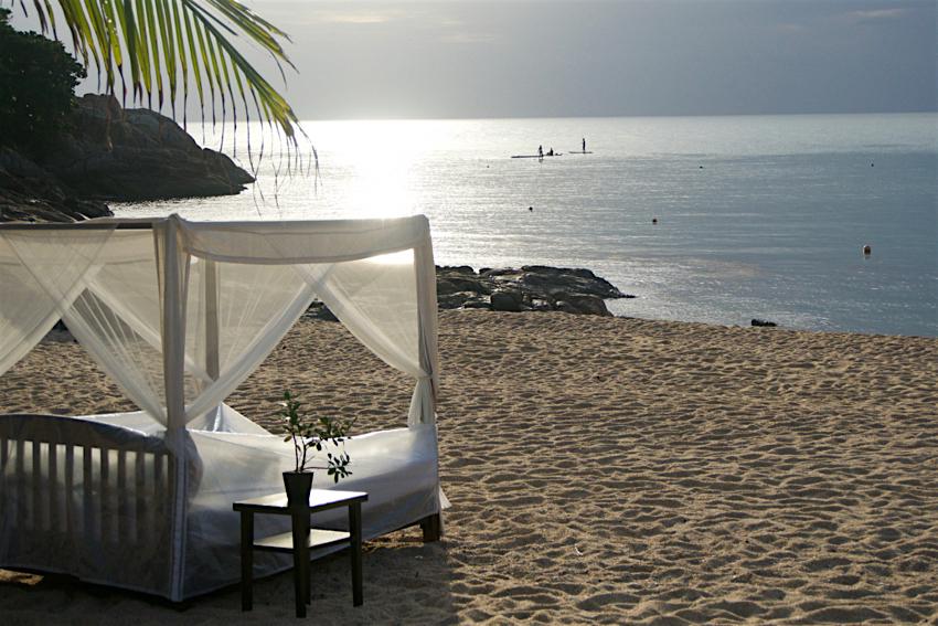 サムイ島旅行記 3日目 早朝のビーチ