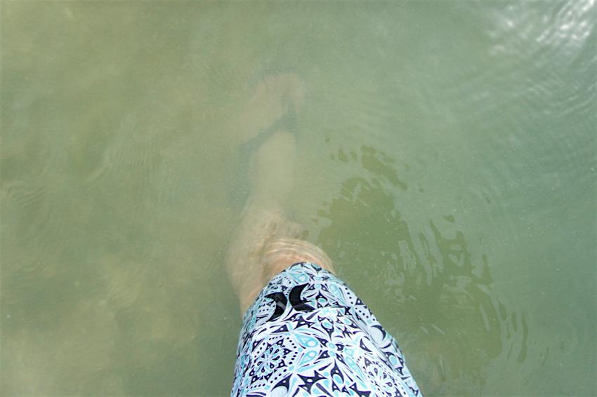 サムイ島旅行記 1日目 The Tongsai Bay Hotel プライベートビーチ5