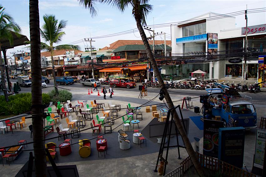 サムイ島旅行記 2日目 KRUA THAI セントラルフェスティバル1