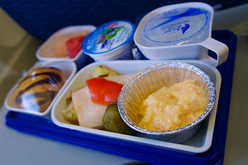サムイ島旅行記 6日目 機内食