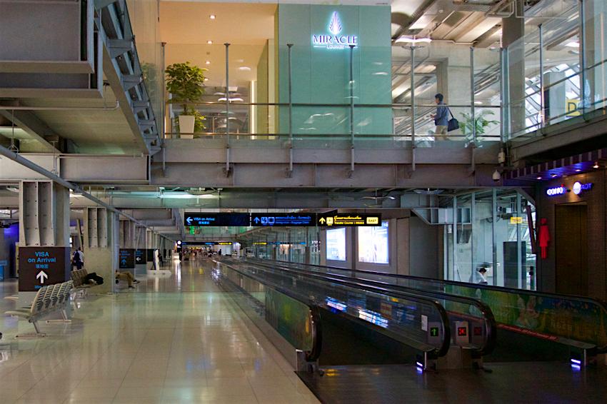 サムイ島旅行記 6日目 スワンナムプーム国際空港1