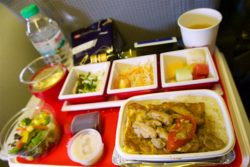 サムイ島旅行記 6日目 ス JAL機内食