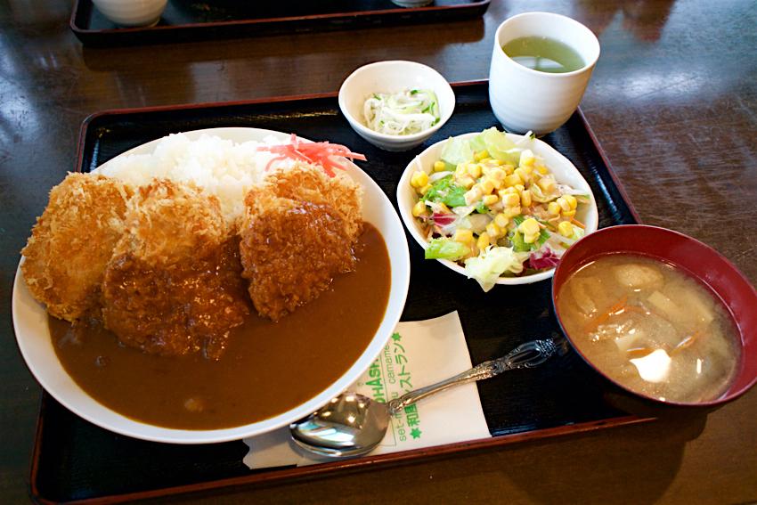 おおはし@高根沢町花岡 チキンカツカレー1