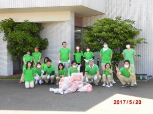 平成29年5月美化ピカ隊集合写真