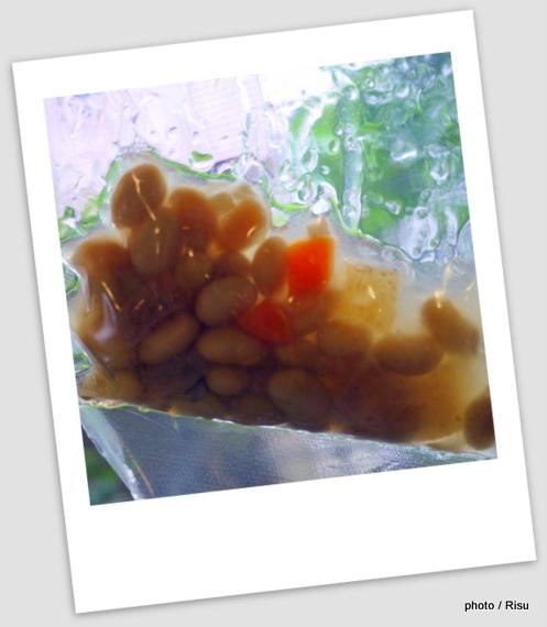 「おくらと大根と黒豆がんもの炊き合わせ」セット調理 わんまいる 旬の手作りおかずセット「健幸ディナー」