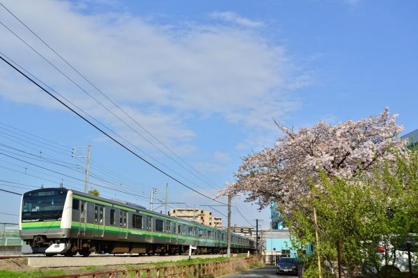 2017年4月13日 JR東日本横浜線 鴨居~中山 E233系H002編成