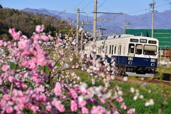 2017年4月23日 上田電鉄別所線 八木沢~別所温泉 1000系1004編成