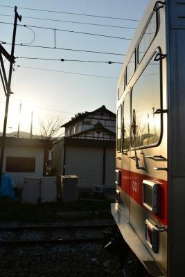 2017年4月24日 上田電鉄別所線 下之郷 1000系1001編成