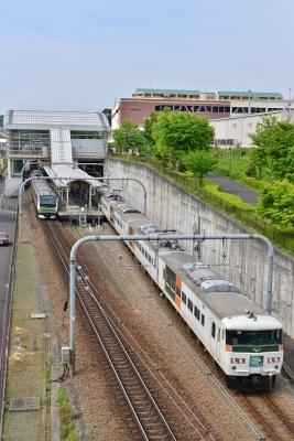 2017年5月4日 JR東日本横浜線 八王子みなみ野~片倉 185系B5編成