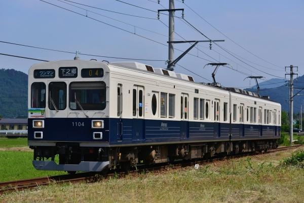 2017年6月20日 上田電鉄別所線 寺下~神畑 1000系1004編成