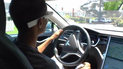 眼鏡をかけて運転