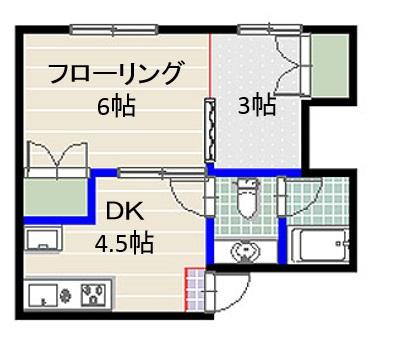 サンハイツ別府 202号室