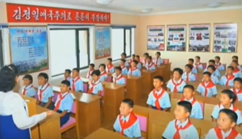 北鮮 教室