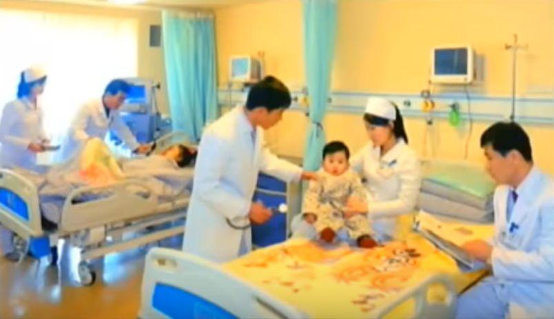 北鮮 病室