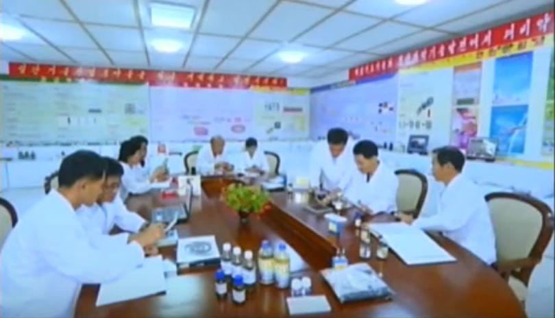 北鮮 研究室