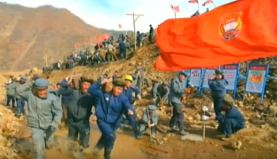 北鮮 労働闘争
