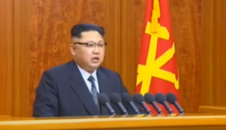 北鮮 正恩演説アップ