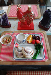 普通の日の朝ご飯