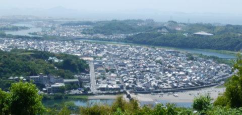 515 城山山頂からの眺め
