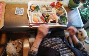母とお昼ご飯5