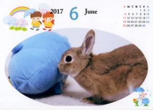 カレンダー-201706