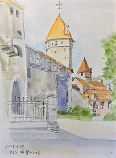 タリン 修道女の塔