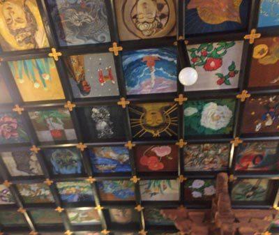 37番天井画