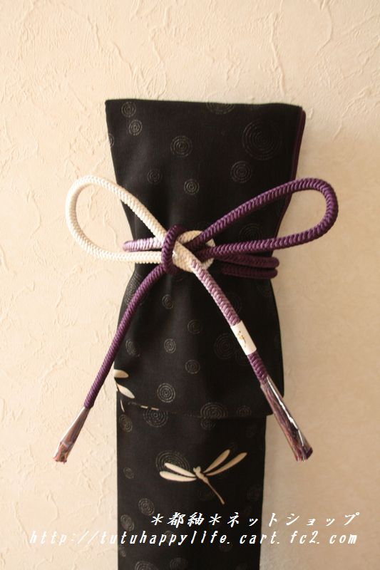手捺染トンボ紫竹刀袋
