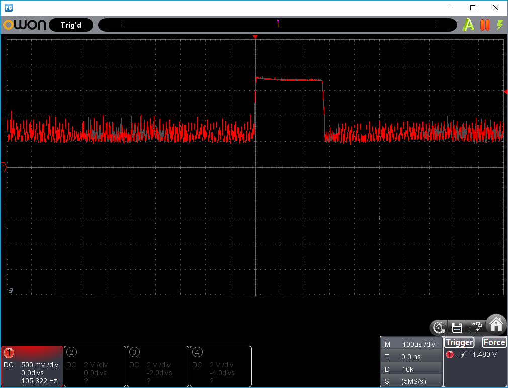 27MHz~2400MHzRFチェッカー波形1-6