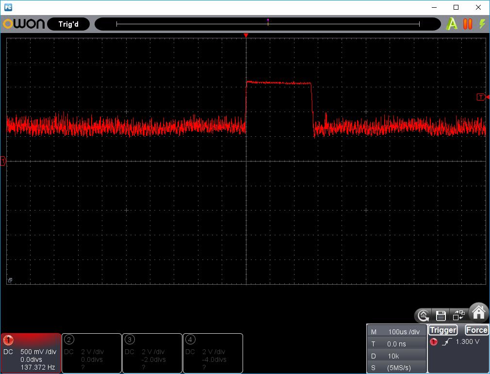 27MHz~2400MHzRFチェッカー波形1-10