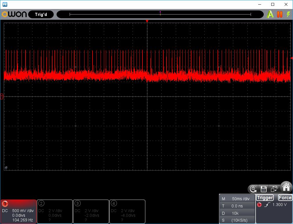 27MHz~2400MHzRFチェッカー波形1-8