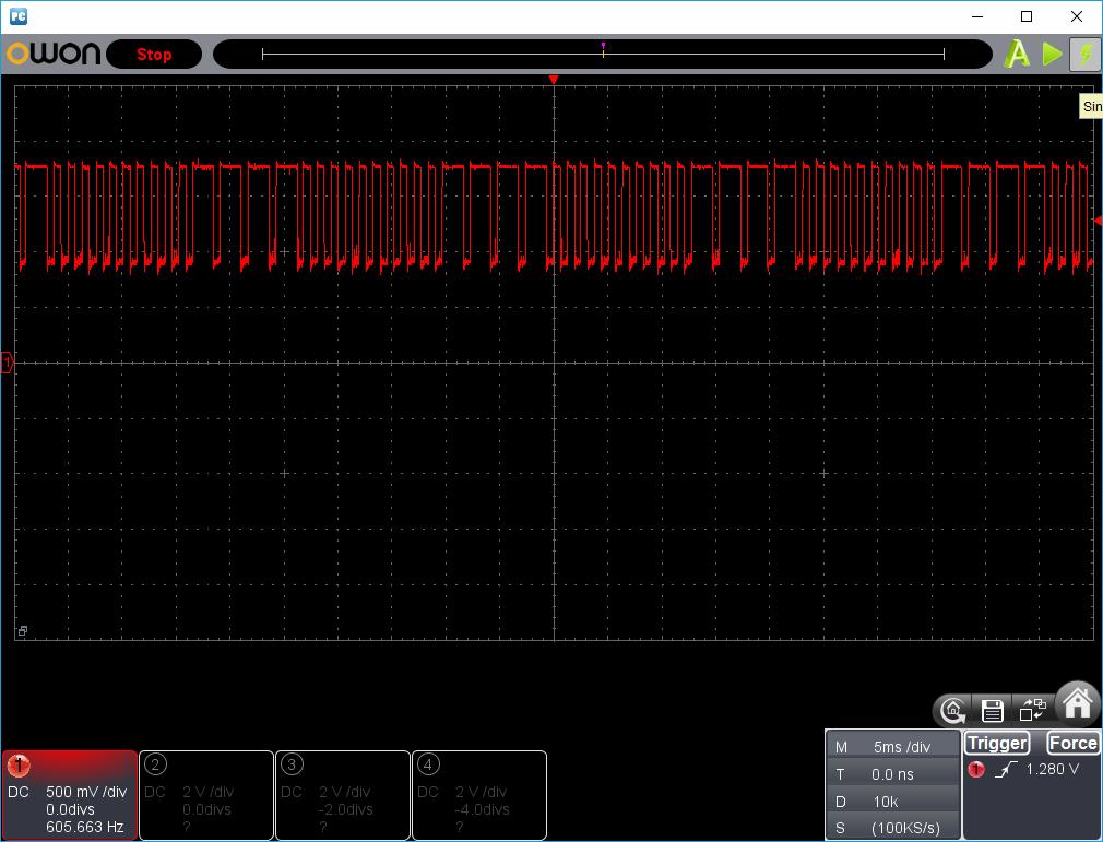 27MHz~2400MHzRFチェッカー波形2-1