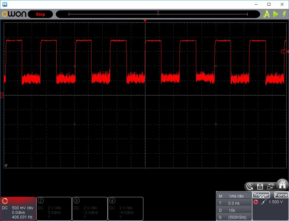 27MHz~2400MHzRFチェッカー波形2-2