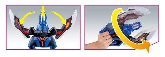 玩具:DXジードクロー02