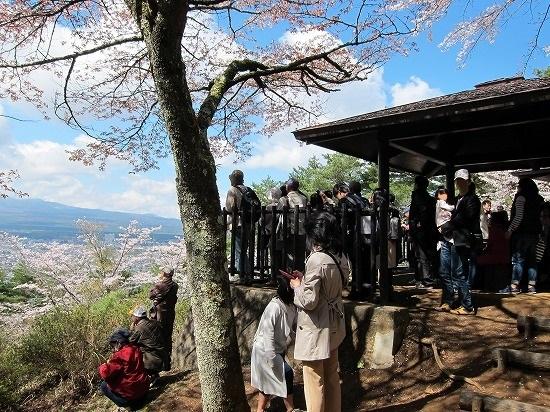 浅間神社展望台