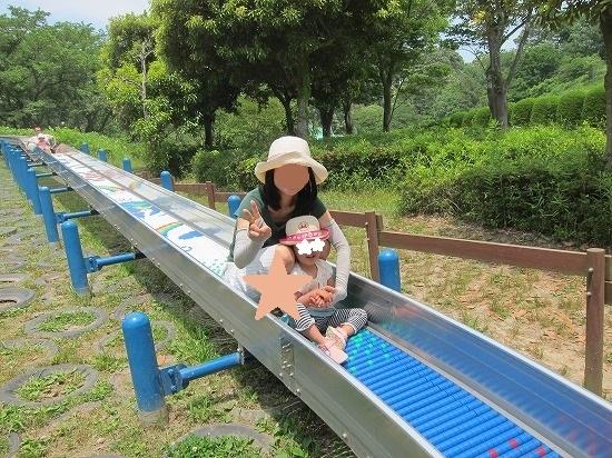 子供の国ロング滑り台