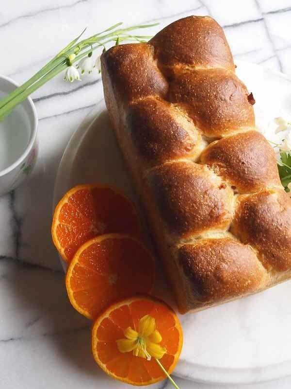 初夏のオレンジヨーグルトブリオッシュ2