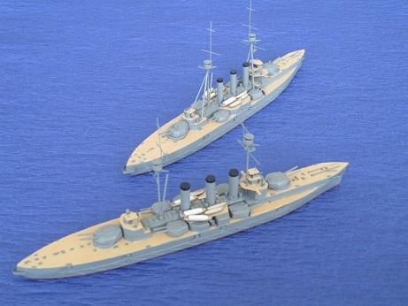 鞍馬型(伊吹型) 巡洋戦艦 - け...