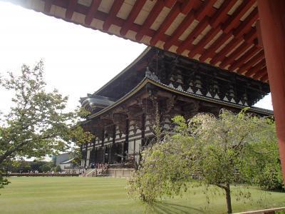 東大寺回廊から