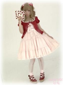 ピンク×赤あんまりやらないけど好き。