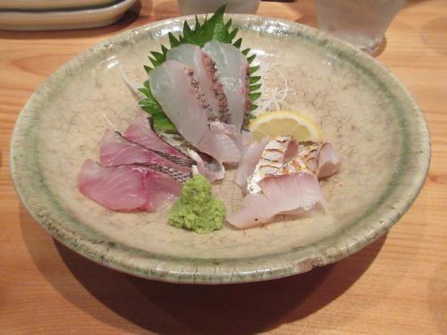 五島列島の魚 刺身盛